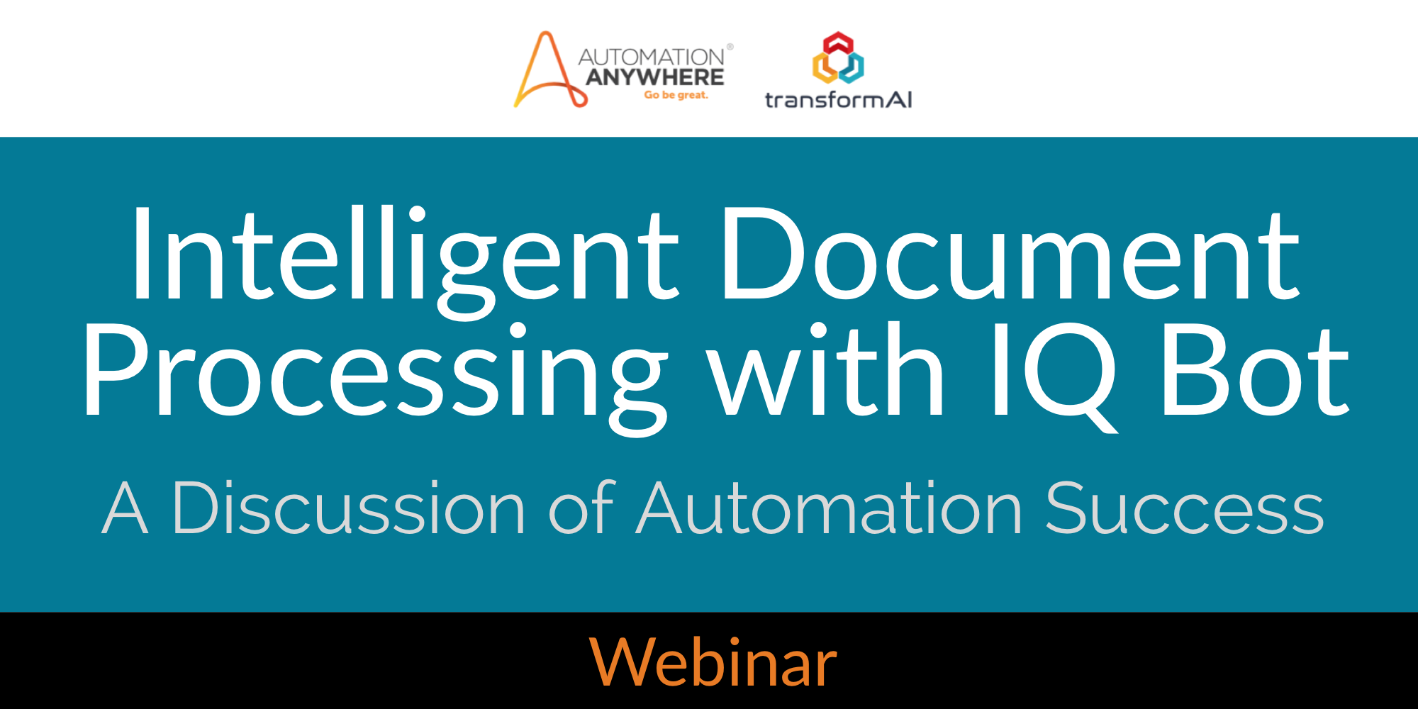 Webinar Recording: Intelligent Document Processing & IQ Bot