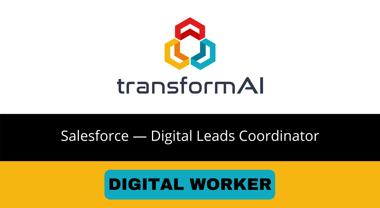 Salesforce Digital Leads Coordinator