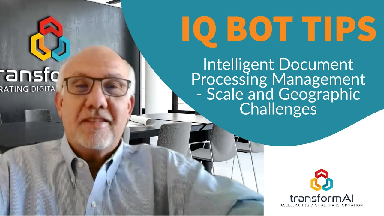 IQ Bot Tips - Intelligent Document Processing - Straight-Through Processing