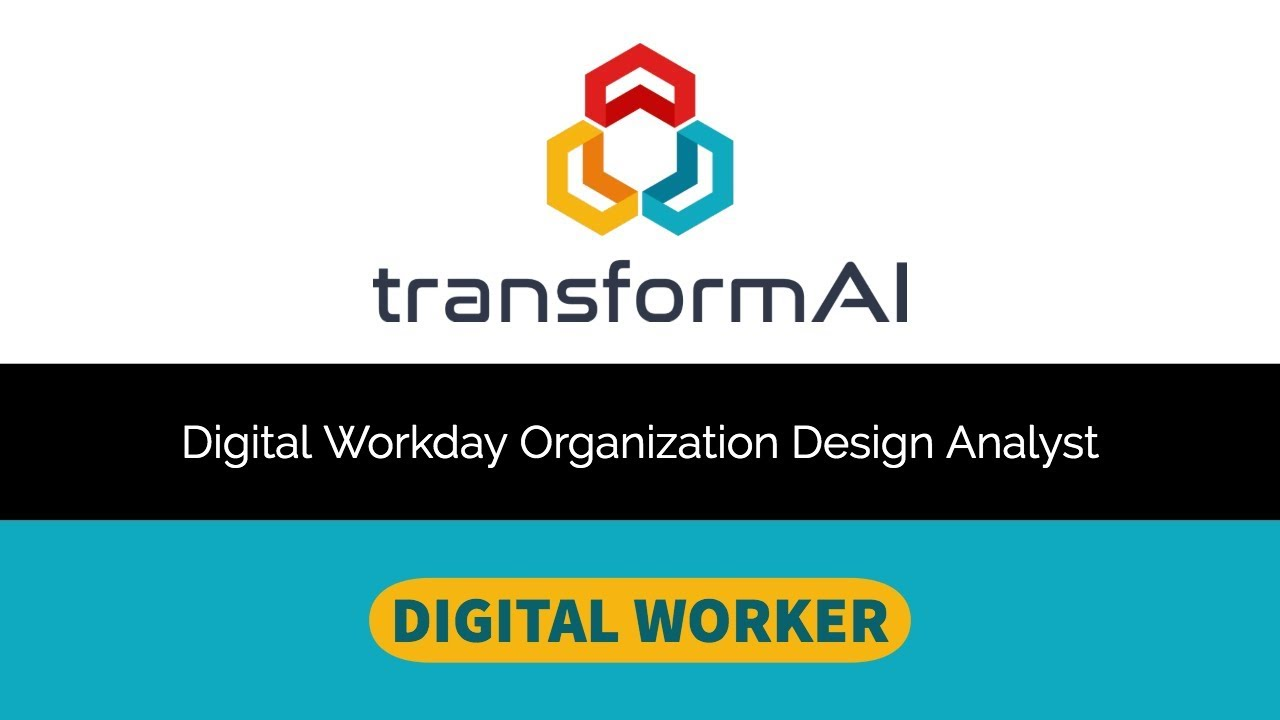 Digital Workday Organization Design Analyst